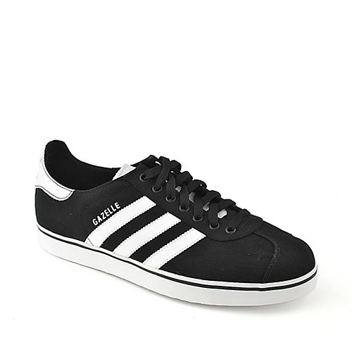 Adidas Gazelle RST mens black and white athletic lifestyle sneaker