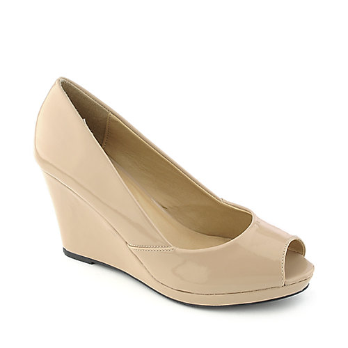 Shiekh Zolio-S Womens Dress Shoe | Low Wedge Shoes