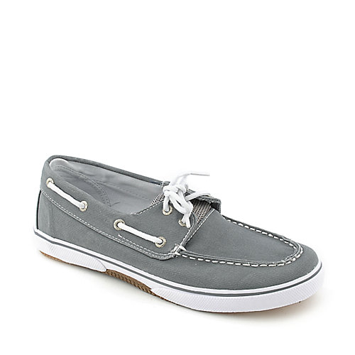 Sperry Top-Sider Halyard Grey youth boat shoe