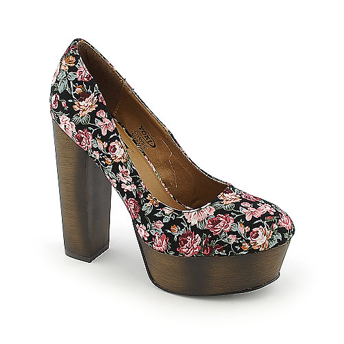 Yoki Chayse womens dress high heel platform