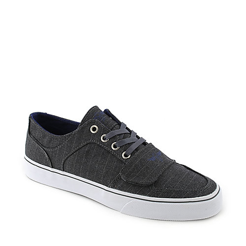 Creative Recreation Cesario Lo XVI grey pinstripe casual lace up sneaker