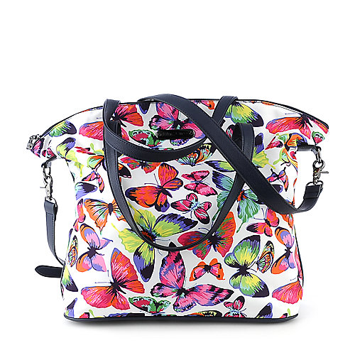 Betsey Johnson Butterflies Are Free accessories hobo handbag
