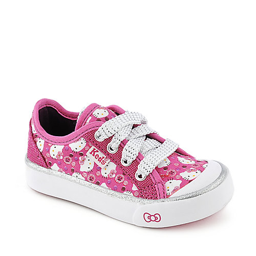 Keds Mimmy Pink Button Hello Kitty toddler sneaker
