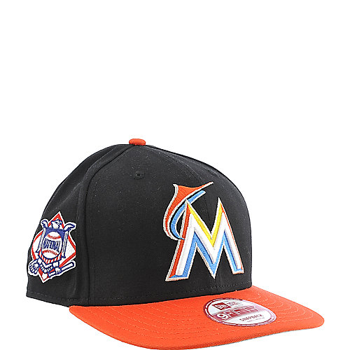 New Era Caps Miami Marlins Cap snapback MLB hat