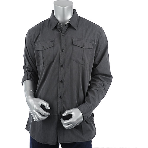 Shiekh Long Sleeve Woven Shirt mens shirt