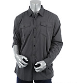 Mens Long Sleeve Woven Shirt