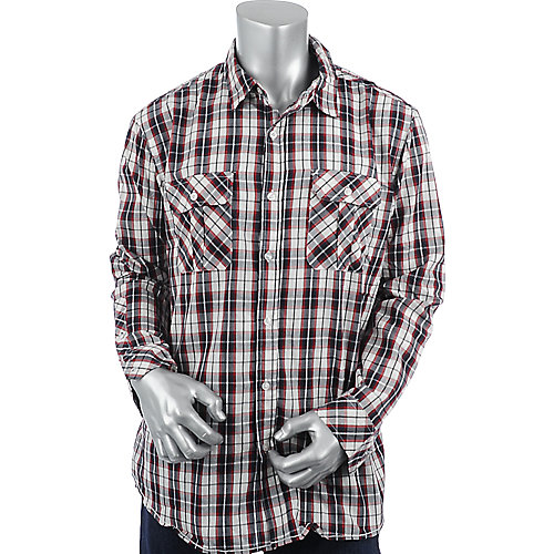 Shiekh Plaid Woven Shirt mens shirt