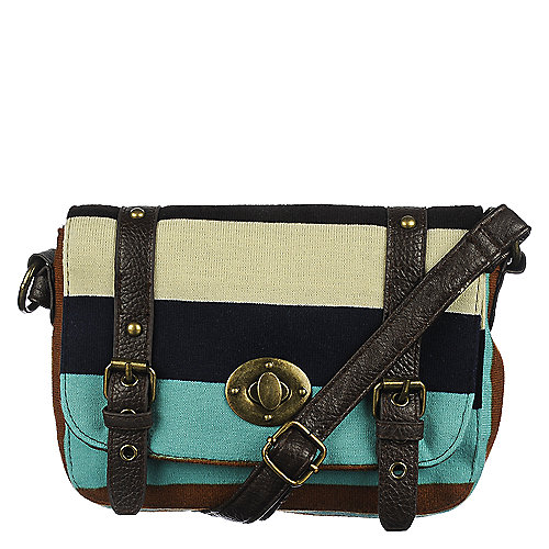 Shiekh Striped Crossbody Bag