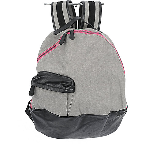 Shiekh Rounded Backpack grey/black backpack