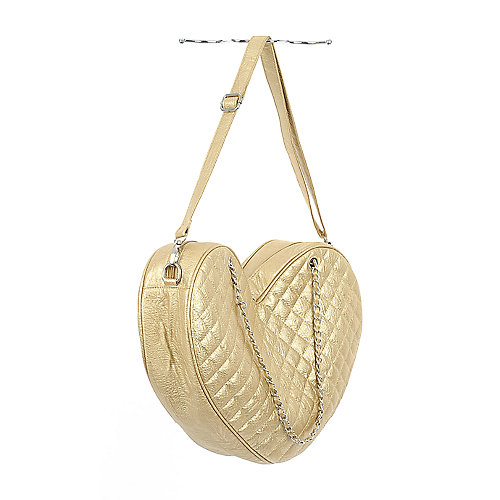 Shiekh Heart Bag gold handbag