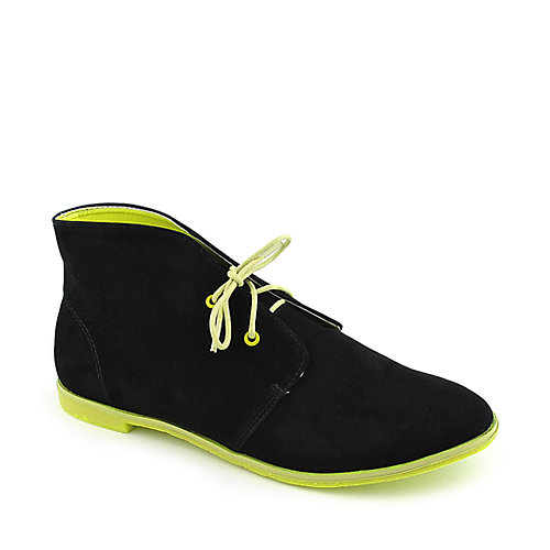 Shiekh DH12028 womens casual flat lace-up shoe