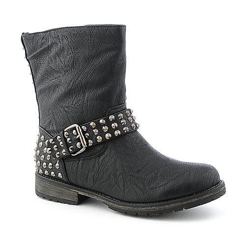 Rocker ankle boots