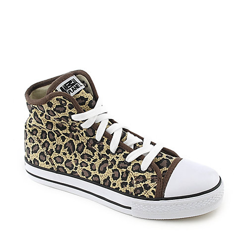 Animal Planet Cheetah Simple lace up casual sneaker shoe