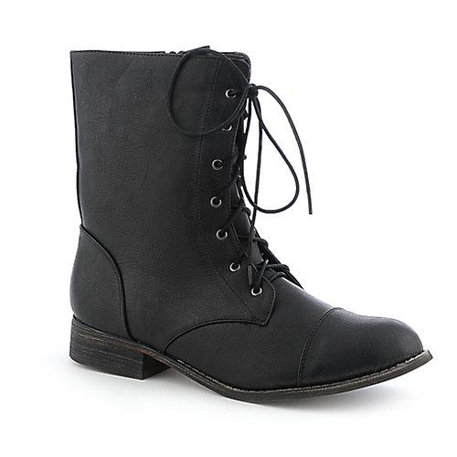 Shiekh 1074-6 womens low heel boot