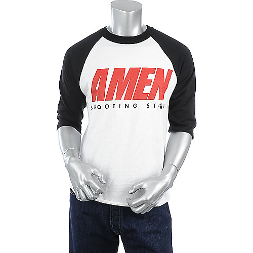 Shooting Star Clothing Amen Raglan mens tee