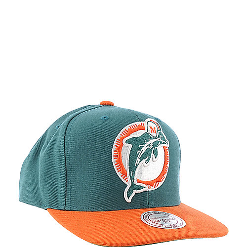 Mitchell and Ness Miami Dolphins Cap snapback hat