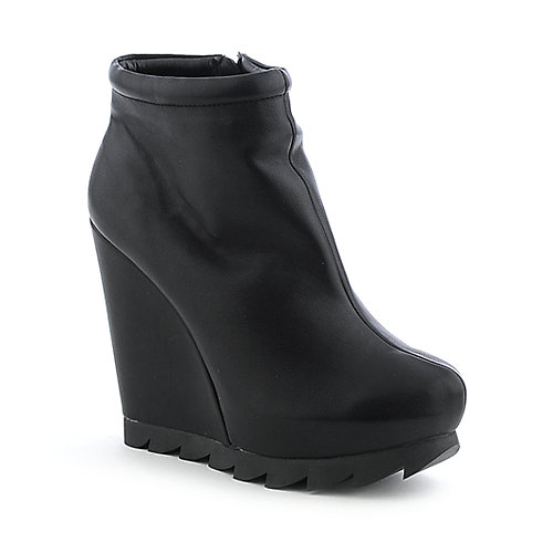 Heart Soul Cocoa womens ankle boot