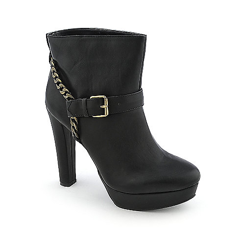 Heart Soul Cambria womens ankle high heel platform boot