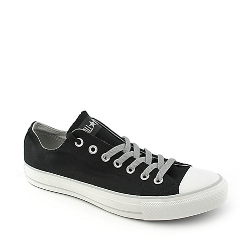Converse mens All Star Lo black lace up casual sneaker