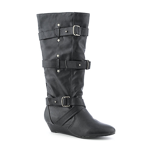 Madden Girl Ilstrate womens black boot