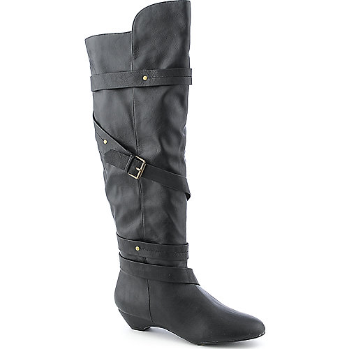 Madden Girl Zippedd womens knee-high boot