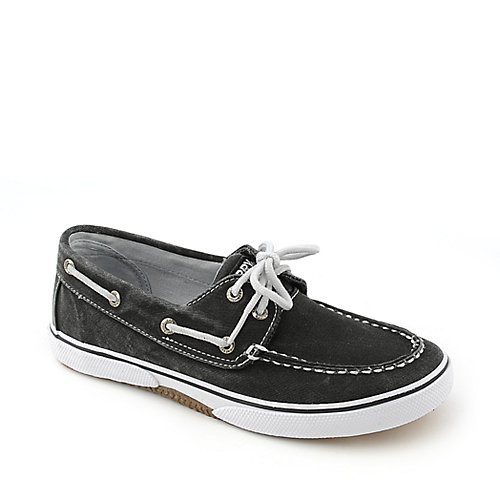 Sperry Top-Sider Boys Halyard Black youth shoe