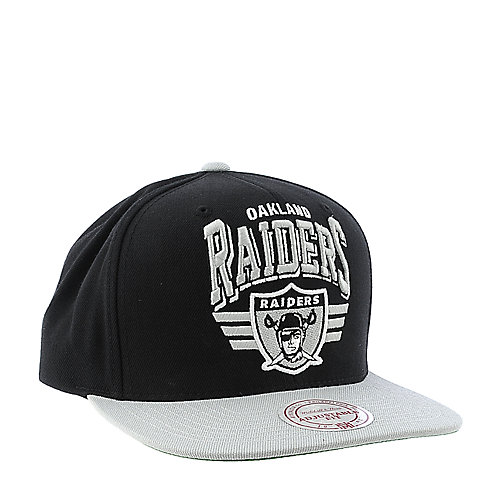 Mitchell and Ness Oakland Raiders Cap snapback hat 959442f88bec