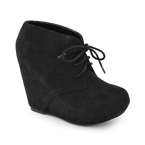 Soda Pager-S Women's Black Ankle Bootie | Shiekh Shoes