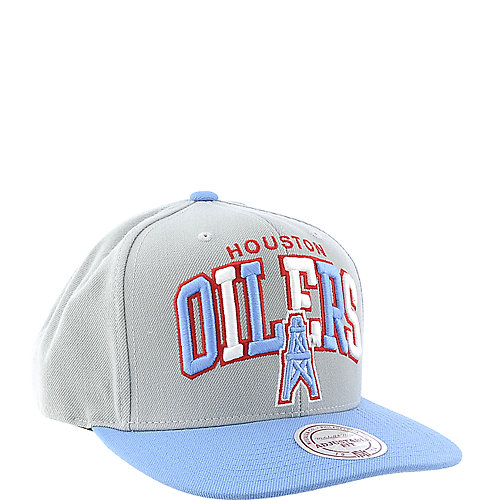Mitchell and Ness Houston Oilers Cap snapback hat c5ae3e63134