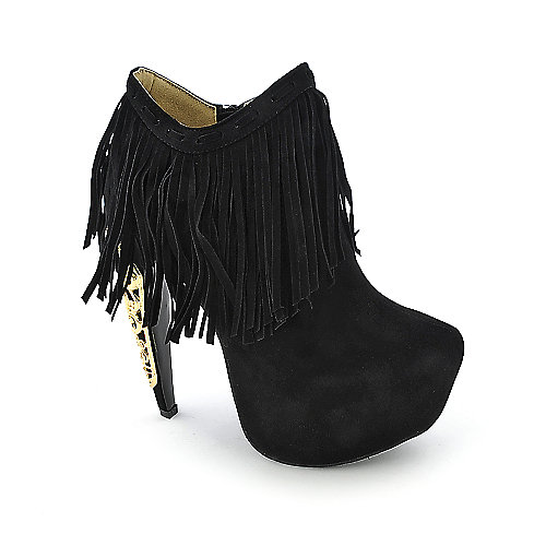 Privileged Lolla womens fringe boot