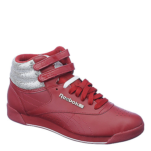 Reebok F/S HI red athletic lifestyle sneaker