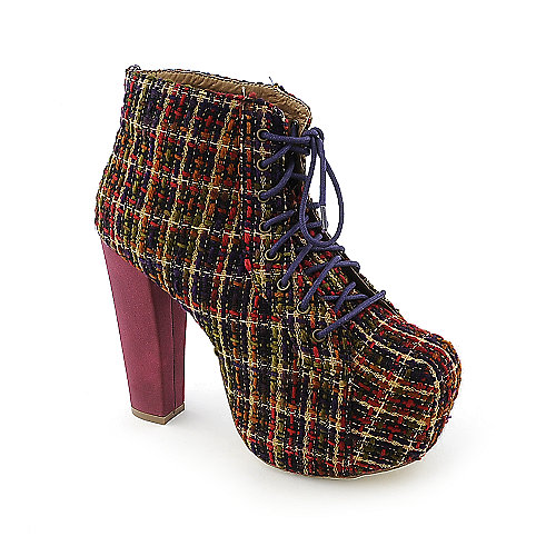 Shoe Republic LA Rockland womens high heel boot