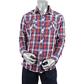 Mens Plaid Long Sleeve Shirt