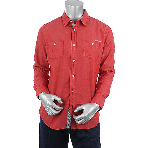 Jordan Craig Legacy Edition Long Sleeve Woven Shirt mens shirt