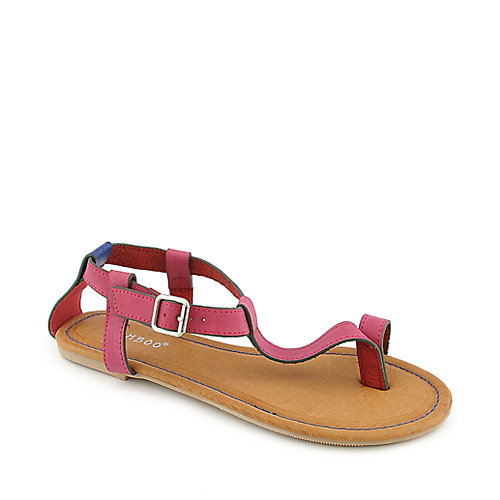 Bamboo Sherin-04 womens flat sandals