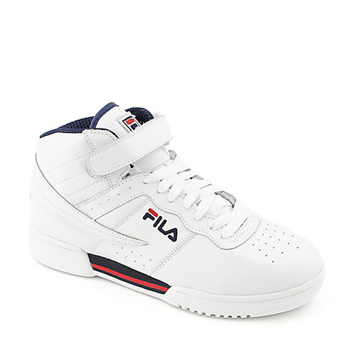 Fila F-13 SL mens white athletic basketball sneaker