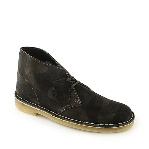 Clarks Originals Camo Desert Boot mens casual boot