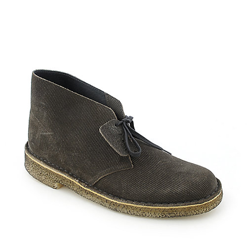 Clarks Originals Grey Cord Desert Boot mens casual boot