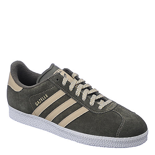Adidas Gazelle II mens olive green athletic lifestyle sneaker