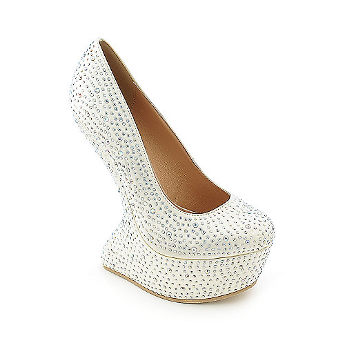 Shiekh Freda-05 womens platform high heel evening dress shoe
