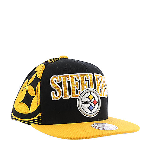 b1c95b7904d Mitchell and Ness Pittsburgh Steelers Cap snapback hat