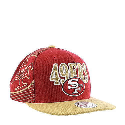 Mitchell and Ness San Francisco 49ers Cap snapback hat 48a2ce7f3e62