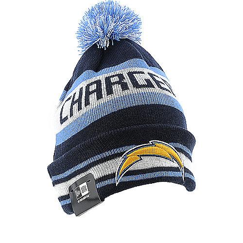 San Diego Chargers Beanie: New Era San Diego Chargers Knit Cap Knit Beanie