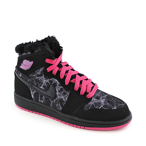 Nike Jordan Girls AJ 1 Retro High Prem (GS) youth sneaker