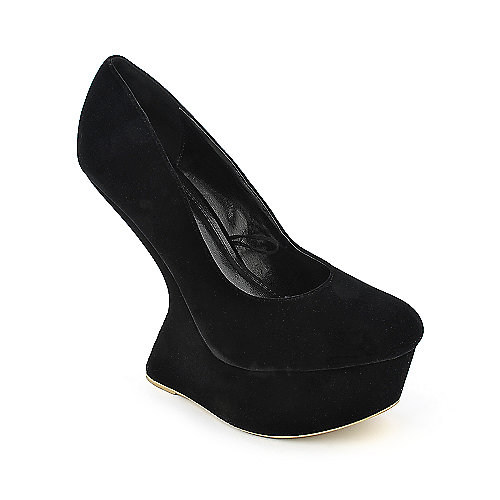Shiekh #087 platform high heel dress shoe