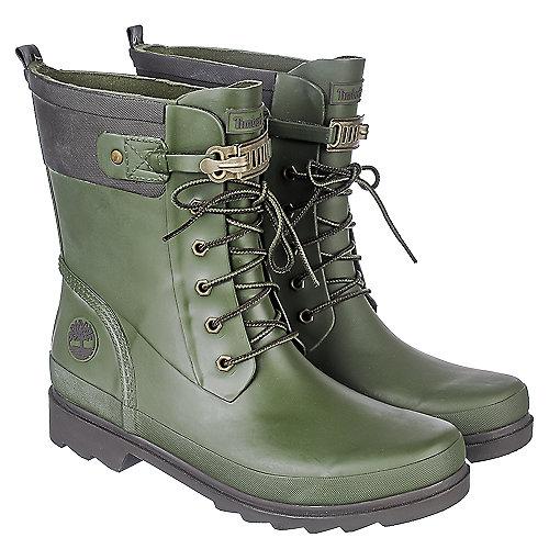 Unique New Womens Timberland Welfleet 6-Inch Wellie / Rain Boots - Wheat | EBay