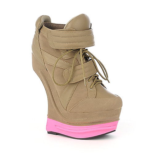 Privileged Harkins womens casual platform sneaker wedge