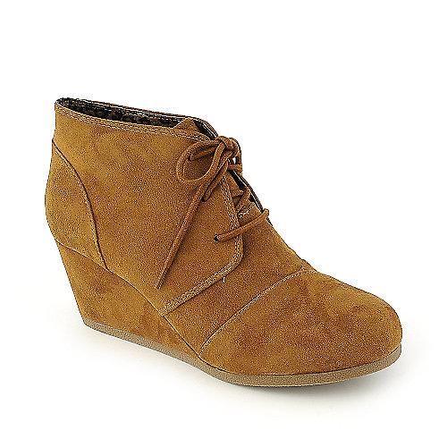 City Classified Rex-S womens ankle wedge boot