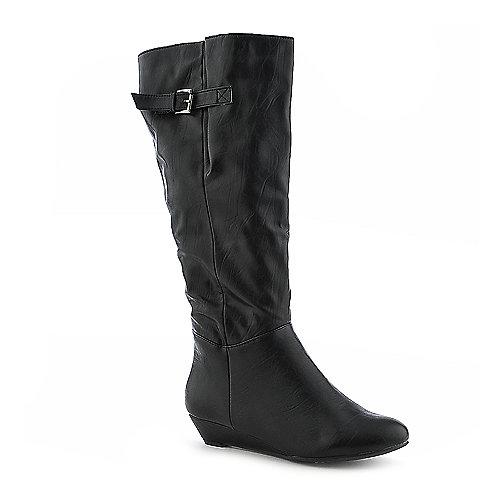 bamboo tamara 01 knee high wedge boot