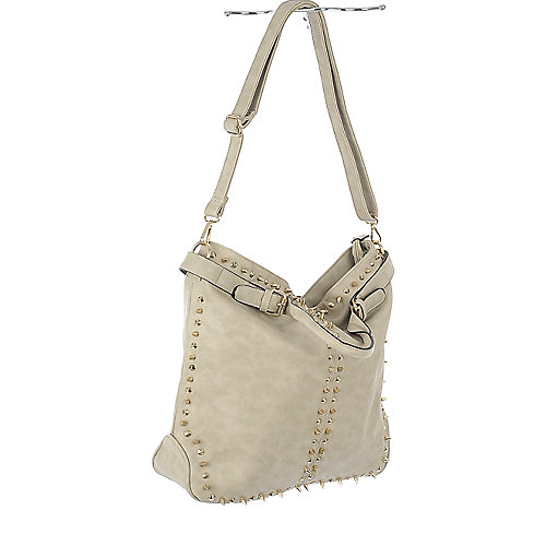 NuG Bone studded hand bag
